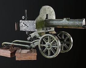 Machine Gun Maxim 3D model