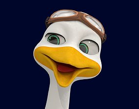 animated Asset - Cartoons - Character - Animals - Rig -
