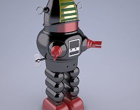 3D model Vintage Japan Robby The Robot Toy