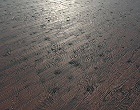 3D asset Wood Floor - Parquet