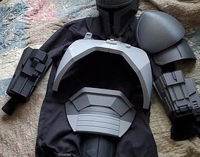 Full Heavy infantry mandalorian armor 3D print model