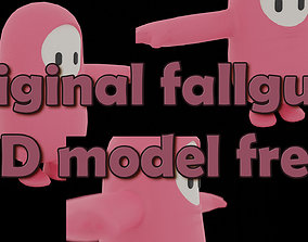 rigged 3D base fall guts model FREE ORIGINAL