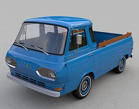 FOR-D ECONOLINE E100 PICKUP 1962 3D truck