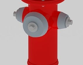 department Fire Hydrant 3D