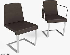 3D model Jag Chairs Bonaldo