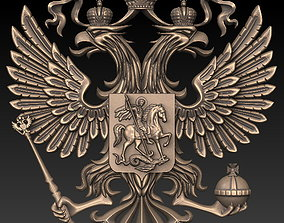 crown 3D printable model emblem