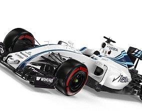 3D F1 Williams FW-38 2016
