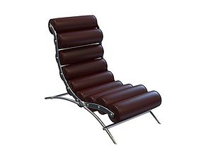 king chaise lounge 3D model
