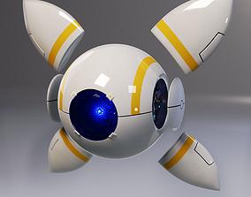 Eye robot 3D asset