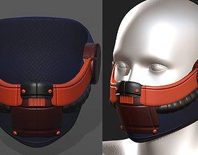 VR / AR ready Gas mask respirator 2