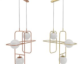 3D Suspension lamp LINK I factory Mambo Unlimited Ideas