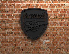 3D print model Arsenal FC Logo
