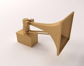 3D model Tornado Siren