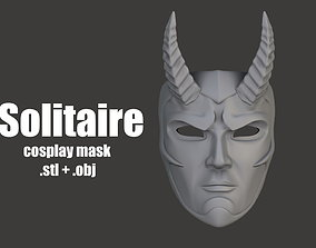 Solitaire - cosplay mask 3D print model