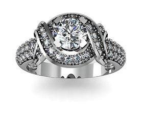 3D printable model Diamond ring jewelry jewelery