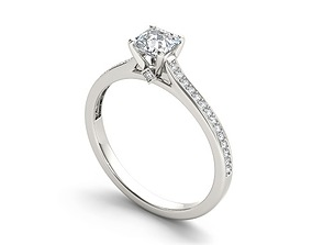 3D model Engagement ring 178