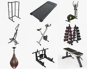3D model Sports equipment vol4