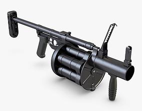 RG-6 Grenade Launcher 3D