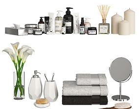 3D model Bathroom Decor Accessories and Cosmetics