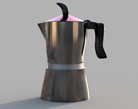 3D print model coffee machine MOKA