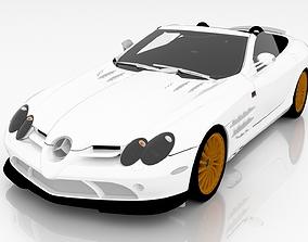 Mercedes-Benz McLaren SLR 722S 3D model