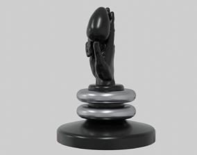 3D asset Abstract hand