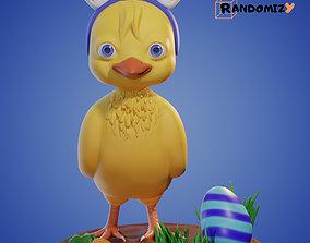 3D print model Pyogi Easter Little Chicken