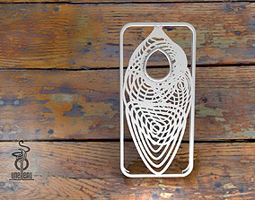 3D printable model Cocoon iphone 5 case