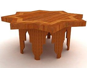 Islamic table 3D model