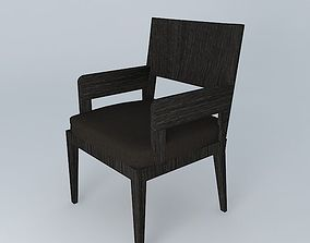 3D model Dining Chair seat