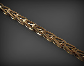 bracelet Chain Link 80 3D printable model