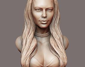 Kim Kardashian sculpture Ready to print