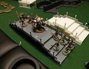 Modular bridge for wargames 3D print model