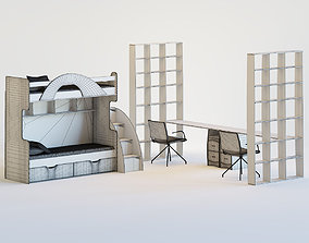 3D Cot for children