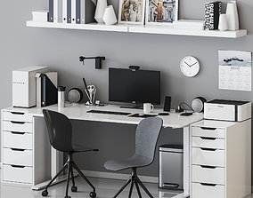 Office Workspace - 1 3D model