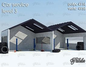 Car services Level 3 3D model