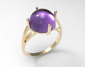 Ring Cabochon STL 3D print model