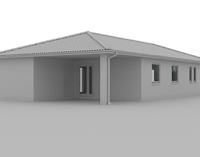 typehus 3D model House from Denmark 113m2