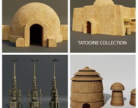 3D model Tatooine Collection starwars