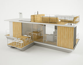 House on water 3D