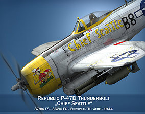 Republic P-47 Thunderbolt - Chief Seattle 3D
