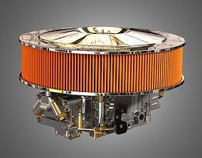 Holley Dominator Carburetor 3D model