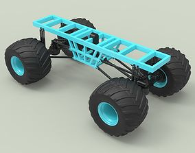 3D Chassis for Monster vehicle