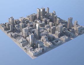 3D model Downtown