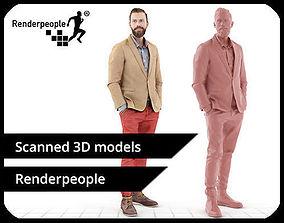 Jacob 0183 Business Man 3D model