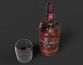 Chivas Whisky 3D asset