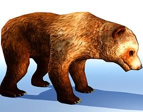 Bear 3D Model animated