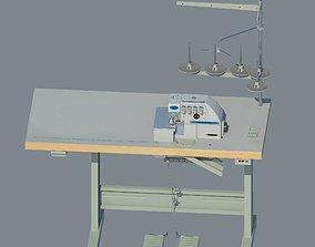 Industrial overlock Yamata FY757A 3D model