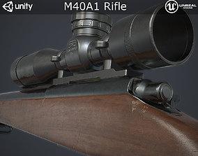 M40A1 Sniper Rifle 3D model