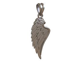 Wing Pendant jesus 3D print model